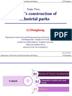 LI Donghong_PPT2_China's Construction of Industrial Parks