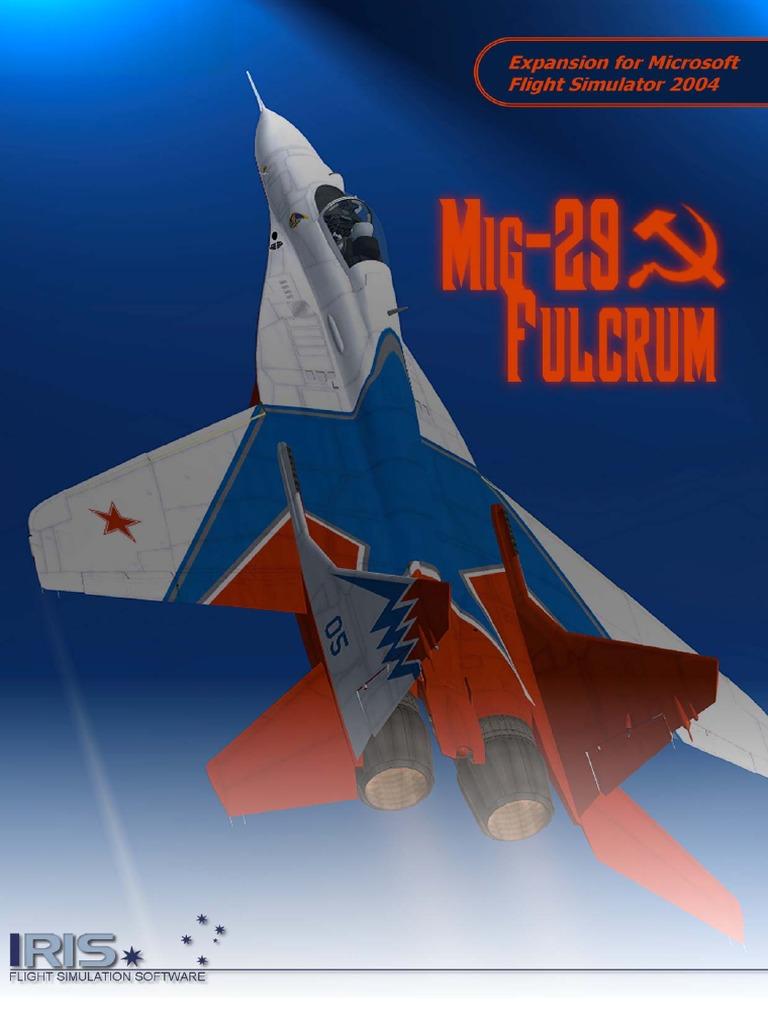 IRIS Mig-29 Fulcrum Flight Manual | Stall (Fluid Mechanics