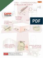 Caja Sumadora Compensadora 4 o 8 Canales Suma4-8 Dpf
