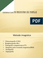Imagistica in Medicina de Familie