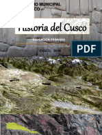 Historia Del Cusco Metodología 2018