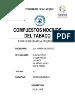 Compuestos Nocivos Del Tabaco