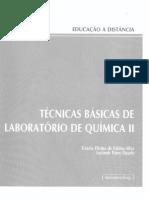 Técnicas Básicas de Lab. Quím. II