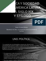 Política y Sociedad en La Amèrica Latina Del