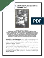 Cómo Llegó Alexander Fleming a Ser Un Gran Médico
