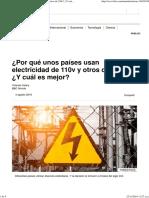 ¿Por qué unos países usan electricidad de 110v y otros de 220v_ ¿Y cuál es mejor_ - BBC Mundo.pdf