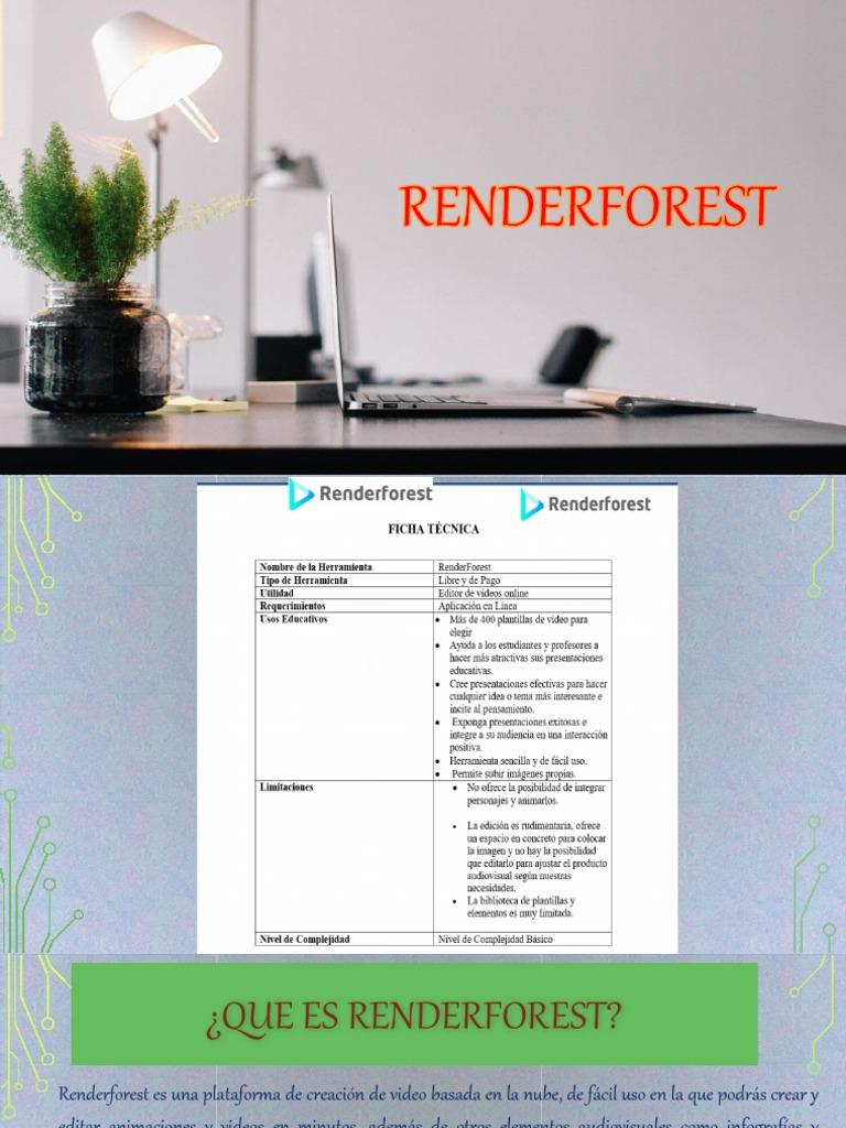 tutorial renderforest