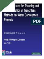 Presentación PNWS Trenchless