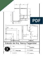 Clase 1 Plano Casa-Planta 1 - 100