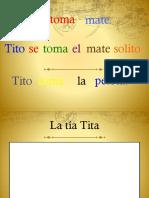 Ppt Consonante T trabajo de lectura