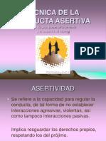 TÉCNICA DE LA CONDUCTA ASERTIVA.ppt