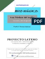 MI LIBRO MAGICO - Los Verbos Del Ingles, Parte 1, Formas Basicas