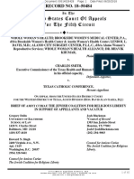 Whole Women's Health v. Smith - Amicus Brief - Jewish Coalition for Religious Liberty