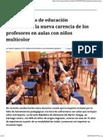 Herramientas de Educación Antirracista, La Nueva Carencia de Los Profesores en Aulas Con Niños Multicolor