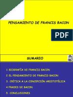 Pensamiento Francis Bacon