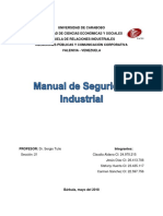 Manual de Seguridad Industrial - Word - Relaciones Publicas
