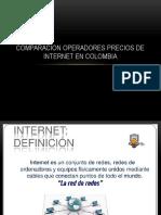 Comparacion Operadores Precios de Internet en Colombia