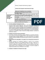Cuestionario Transporte Internacional y Seguros