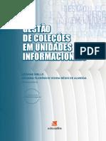 GESTÃO DE COLEÇÕES livro