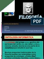 16ta Clase Filosofía Ontología Informática