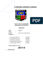 Agrotecnia Informe III