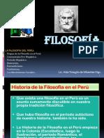 13ra Clase Filosofía Del Perú