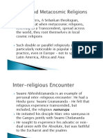 Cosmic and Metacosmic Religions, PPT