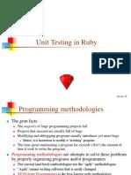 Unit Testing in Ruby