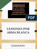 Lesiones Por Arma Blanca (1)