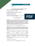 Ley 25.054 (Bomberos Voluntarios) - El Teclado
