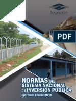 Normas SNIP 2019