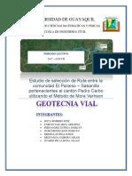 Informe Geotecnia Vial Final