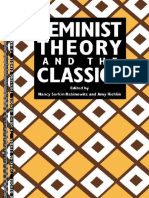 Feminist Theory and the Classic - Nancy Sorkin Rabinowitz