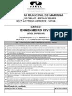 Maringa 09 2018 Prova 06 24 Prova Eng Civil