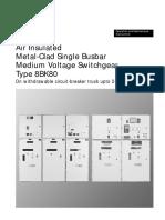 Air Insulated 8BK80