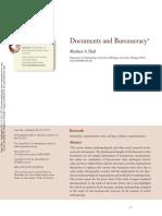 HULL, Matthew - Documents and Bureaucracy