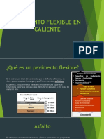 Pavimento Flexible en Caliente