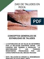 Diseño Taludes en Roca