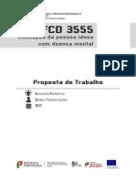 UFCD 3555 - Proposta de Trabalho