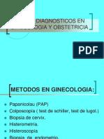 Medios Auxiliares de Diagnostico en Ginecologia y Obstetrici