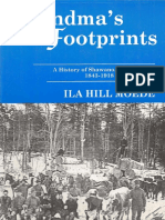 Grandmas Footprints a History of Shawano Wisconsin 1843-1918