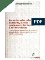 TOPALOV (2014) - Introdução - A Aventura Das Palavras Da Cidade, Através Dos Tempos, Das Línguas e Das Sociedades