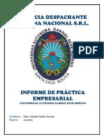 Informe Practica Empresarial Alder