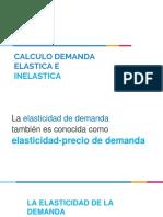 Calculo Demanda Elastica e Inelastica