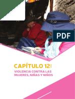 INEI Violencia Contra Mujeres, Niñas y Niños Cap012
