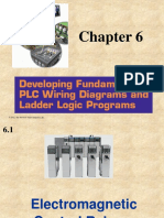 chapter 6 - developing fundamental plc wiring diagrams and ladder logic  programs pdf | relay | switch