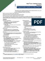 001-84932 PSoC 5LP CY8C58LP Family Datasheet Programmable System-On-Chip PSoC Datasheet