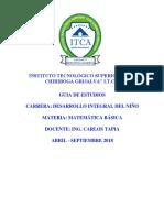 Guia Academica Matematicas Sl