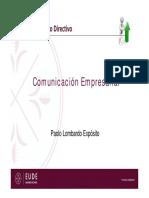 SPV1 Habilidades Directivas - Comunicación 11-05-2016