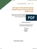 Clipping CACD - Estudos Para Concurso Público Diplomata